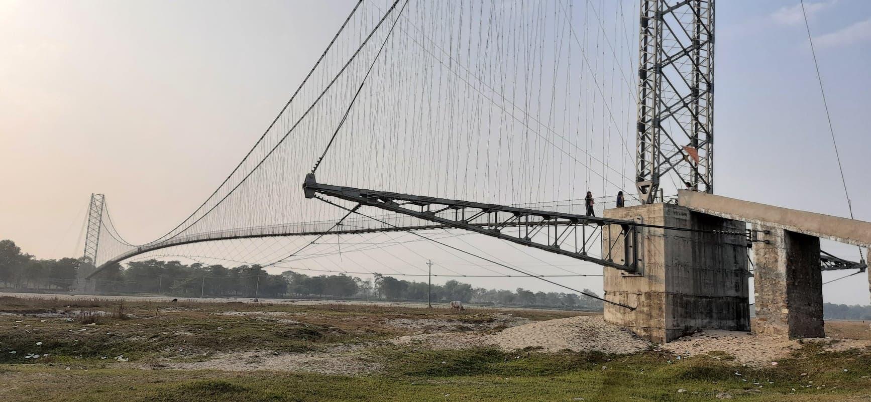 बल्ल जोडियो 'मेचीपारिको नेपाल' पुल, सडक पुगेसँगै 'नेपाली' महसुस गर्न थाले स्थानीय :: Times of Pradesh