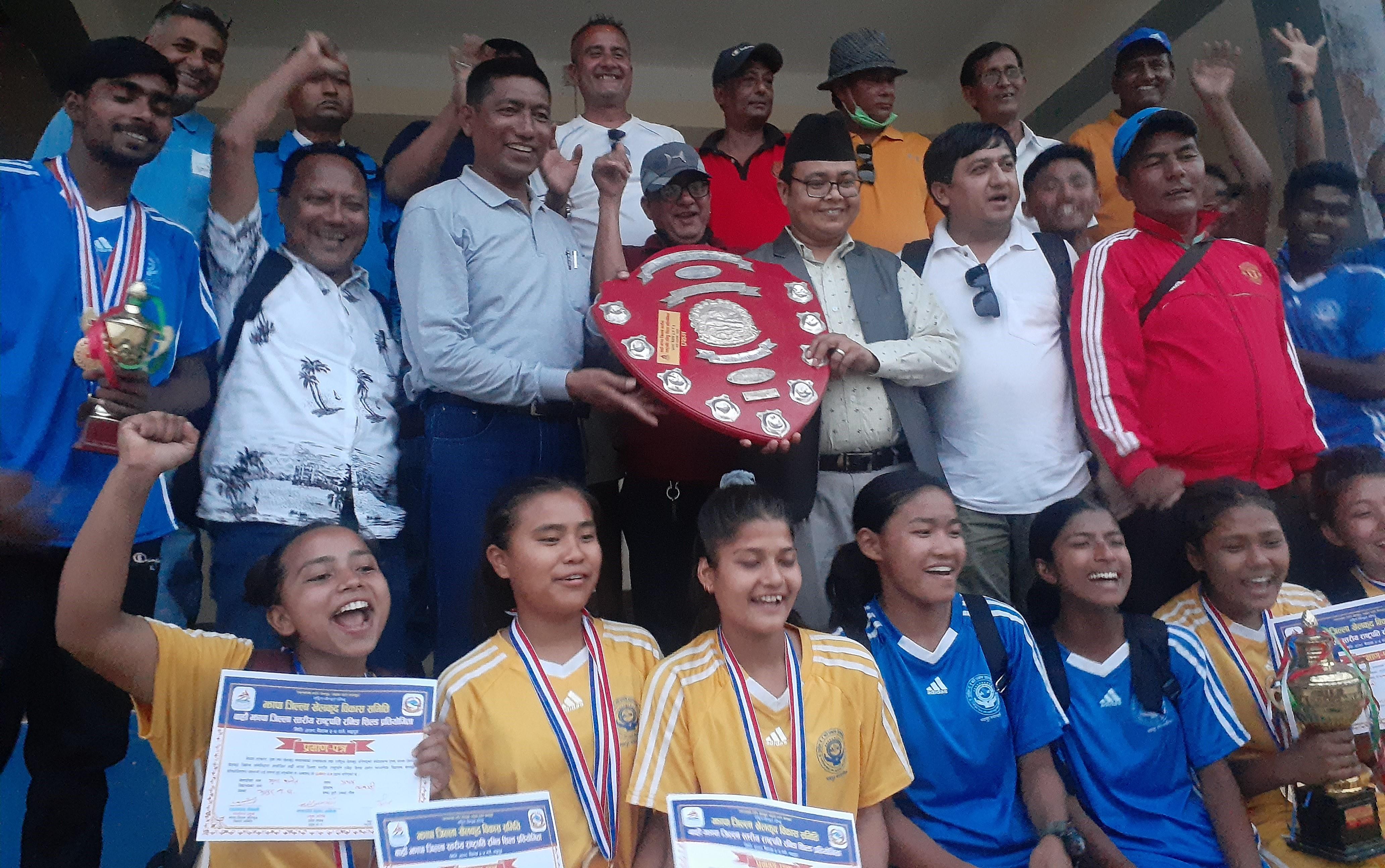 १२ औँ राष्ट्रपति रनिङ सिल्ड प्रतियोगिता : भद्रपुर नगरपालिका प्रथम, झापा पदकविहीन