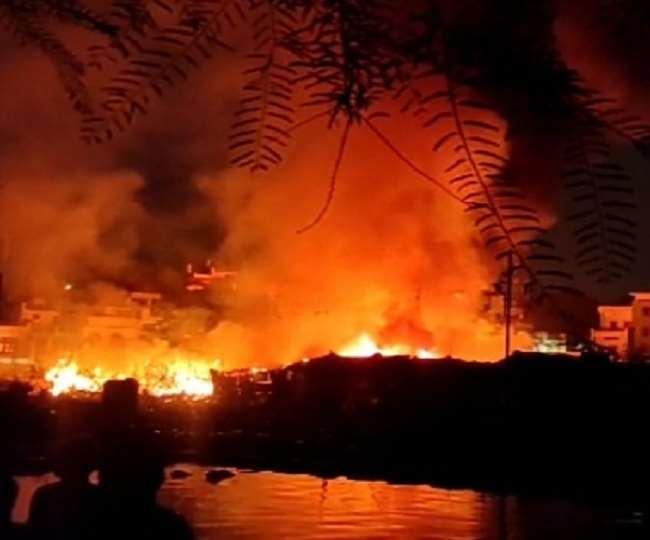 भारतको कोलकातामा भीषण आगलागी, कम्तिमा ९ जनाको मृत्यु