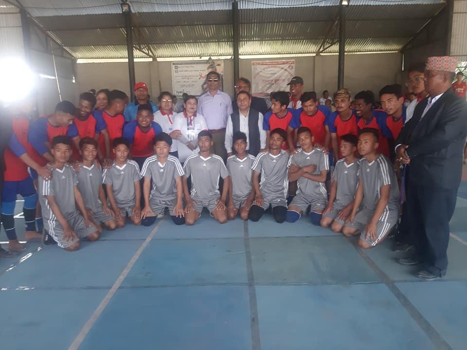 भद्रपुरमा मेयर कप वडास्तरीय कबड्डी प्रतियोगिता शुरु