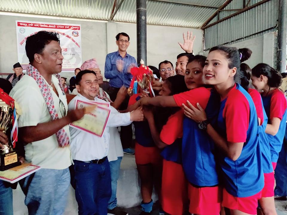 वडा नम्बर ८ र ५ लाई भद्रपुर मेयर कप कबड्डी प्रतियोगिताको उपाधि