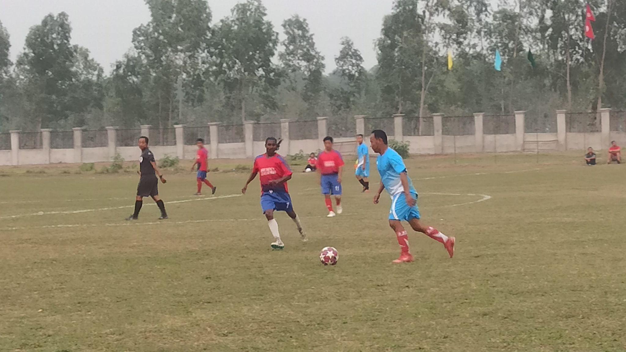 भेट्रान कप फुटबल : चन्द्रगढी सिभिसी सेमिफाइनलमा