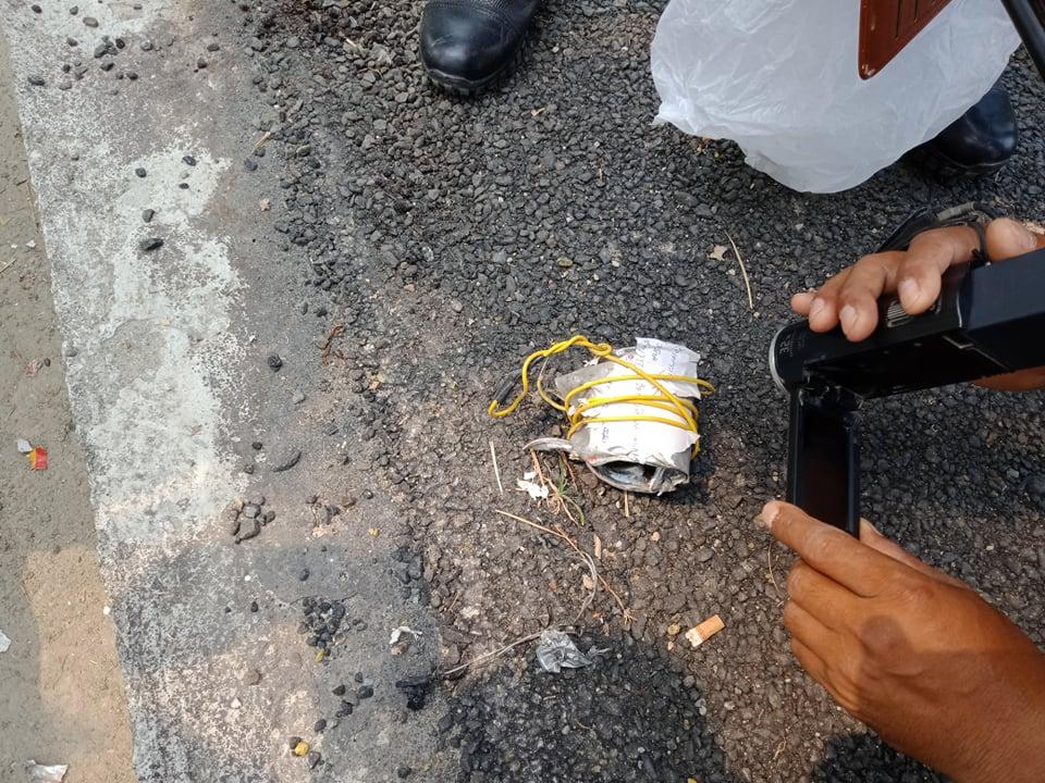 झापाको दमकमा शङ्कास्पद वस्तु बम नभएको प्रहरीद्धारा पुष्टि