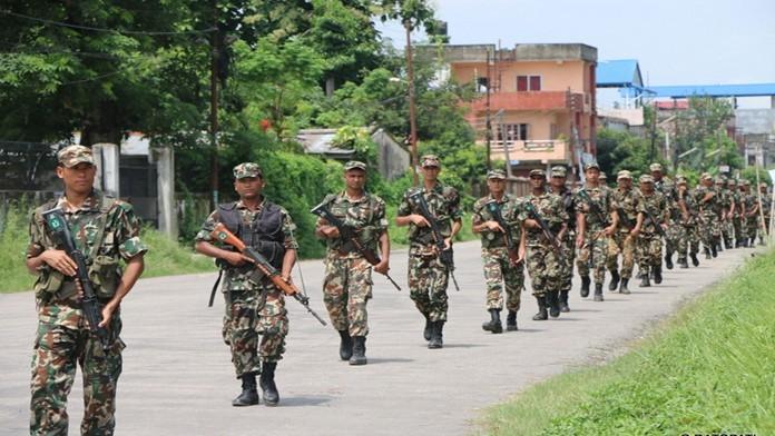 झापाका पाँच स्थानीय तहमा सेना परिचालन, सीमामा सशस्त्रको ४४ वटा फरवार्ड पोस्ट