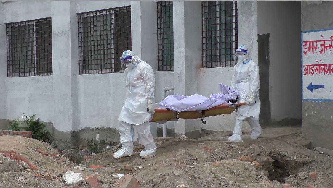 मेची कोभिड अस्पतालमा वृद्धको मृत्यु, मृत्युपछि रिपोर्ट नेगेटिभ भएको खुलासा