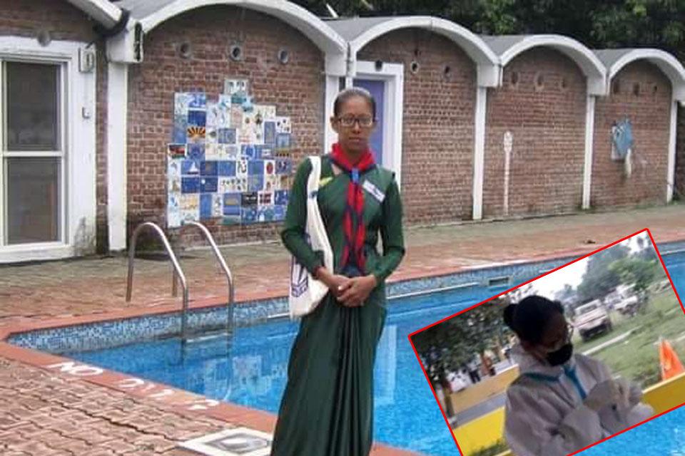 भद्रपुरकी सिवानी बनिन् संक्रमितको शव व्यवस्थापन गर्ने पहिलो महिला