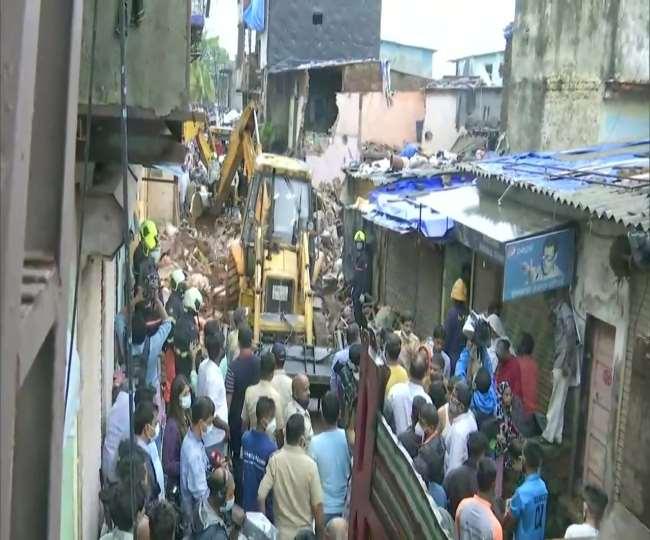 भारतको मुम्बई बर्षाको कहर : आवासीय भवन भत्किँदा ११ जनाको मृत्यु :: Times of Pradesh
