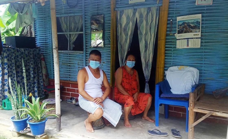 भुटानी शरणार्थी शिविरमा कोरोनाको पीडा : पानी दिने आफन्त पनि छैनन्