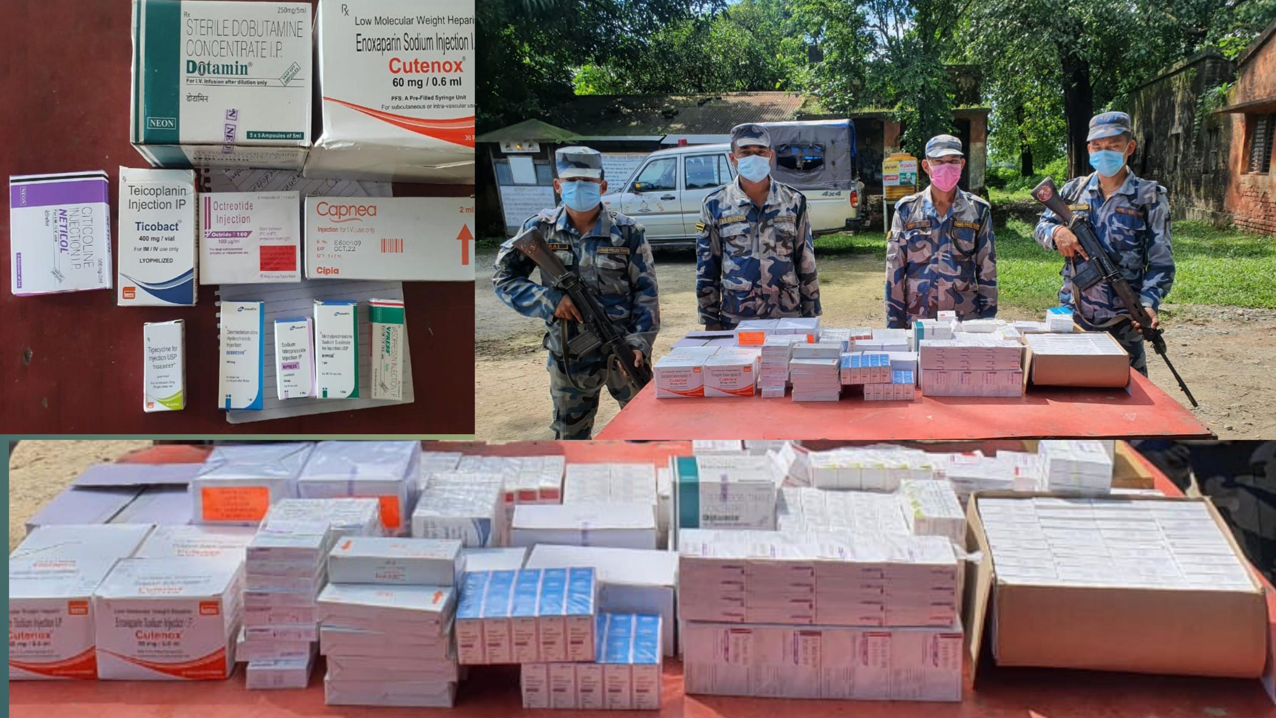 बिस्कुटको कार्टुनभित्र औषधि तस्करी, सशस्त्रद्वारा १९ लाखको औषधि बरामद :: Times of Pradesh