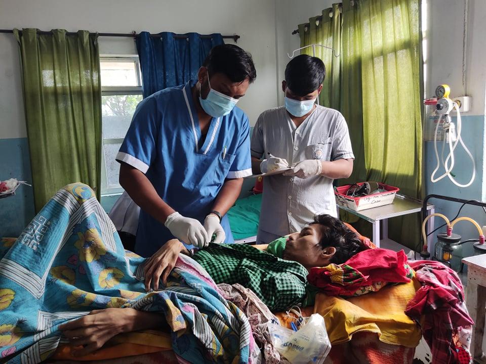 अर्जुनधाराका गोपीको उद्धार, बिर्ता सिटीमा निः शुल्क उपचार :: Times of Pradesh