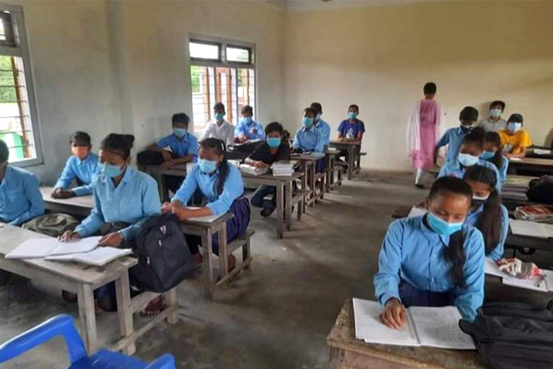 कचनकवलमा विद्यालय खुले, अन्य स्थानीय तहमा असोजदेखि सञ्चालन गर्ने तयारी