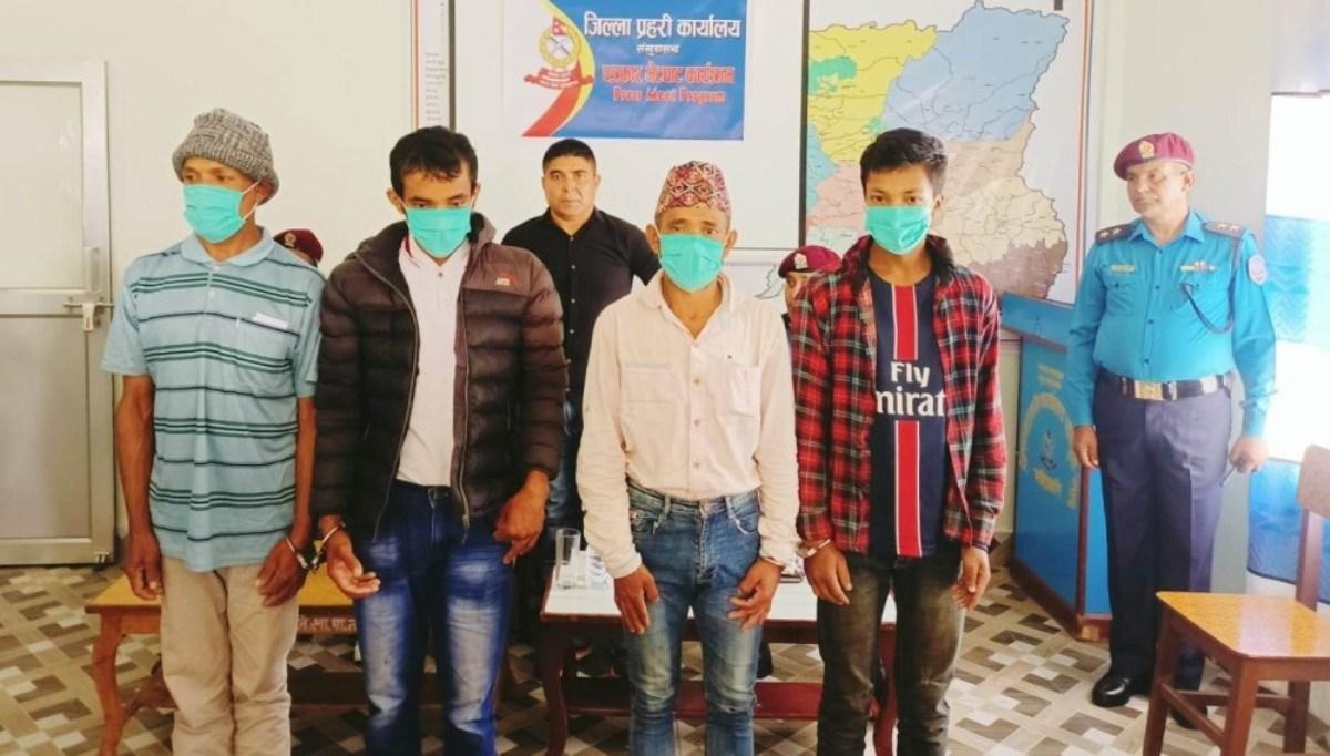 संखुवासभा हत्या प्रकरण : चार अभियुक्त पुर्पक्षका लागि कारागार चलान :: Times of Pradesh