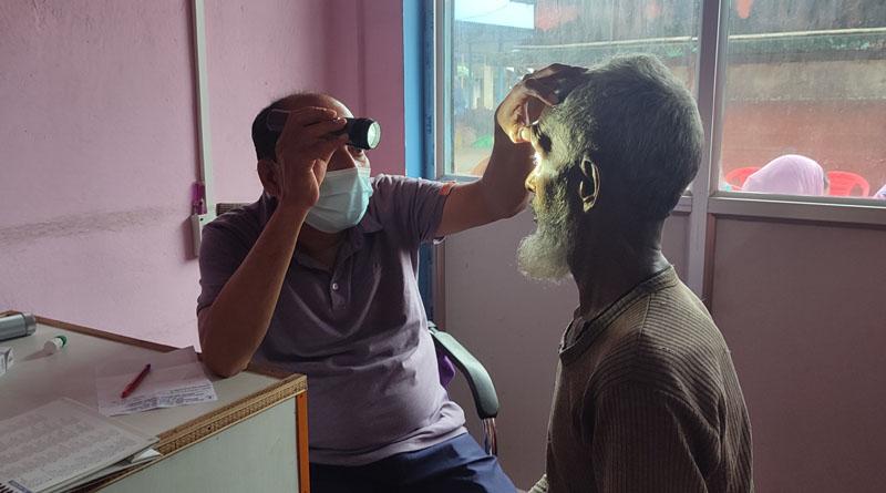बाह्रदशीमा निःशुल्क मोतिया विन्दु परीक्षण